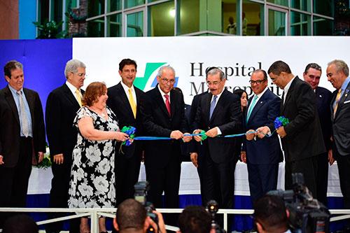 Inauguración del Centro Cardiovascular HOMS