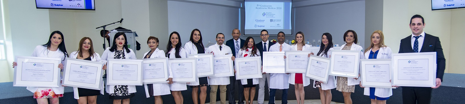 8va Graduación de Residencias Medicas